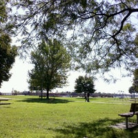 Photo taken at Bishop Park by Jessica S. on 10/4/2011