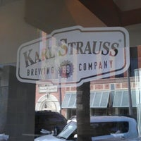 Photo taken at Karl Strauss Brewery & Restaurant by Tom S. on 1/7/2012