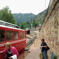 Photo taken at Pikes Peak Cog Railway by Jim J. on 8/13/2012