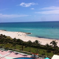 Photo taken at Sun Lounge At RED South Beach by Rodolfo W. on 3/30/2012