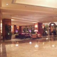 Photo taken at Shangri-La Hotel by Revarita T. on 3/21/2012