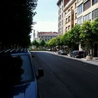Photo taken at Plaza de la Inmaculada by Percebes B. on 6/27/2011
