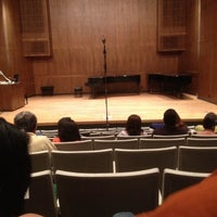 Photo taken at Music Building and Recital Hall (MRH) by JoAnn R. on 4/16/2012