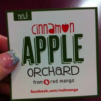 Photo taken at Red Mango by Connie K. on 11/13/2011
