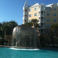 Photo taken at Hilton Grand Vacations at SeaWorld by Ed S. on 1/21/2012