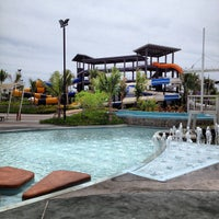 Photo taken at Black Mountain Waterpark by Sydney T. on 5/12/2012