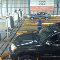 Photo taken at Planta de Revisión Técnica SGS by Anibal C. on 12/15/2011