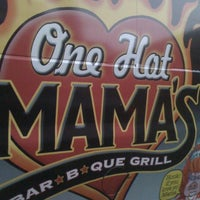 Photo taken at One Hot Mama's by TriadChristina T. on 9/17/2011