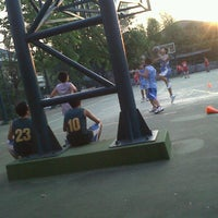 Photo taken at Lapangan Basket Duren Sakti by Andrew C. on 9/7/2011