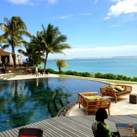 Photo taken at LUX* Le Morne by Sonam T. on 8/31/2012