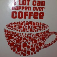 Photo taken at Cafe Coffee Day (Kowdiar) by Mohamed A. on 7/6/2012
