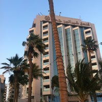Photo taken at Sheraton Jeddah Hotel by Lady N. on 3/16/2012