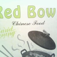 Photo taken at Red Bowl Chinese Restaurant by Mike W. on 5/25/2012