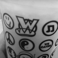 Photo taken at Which Wich? Superior Sandwiches by Noah P. on 12/16/2011