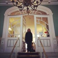 Photo taken at Grande Hotel de Paris by Bruno G. on 2/25/2012