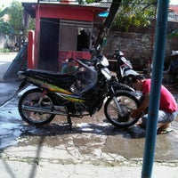 Photo taken at Dinar car wash by Lucky l. on 1/23/2012