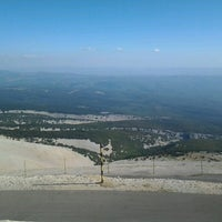 Photo taken at Mont Ventoux by Guillaume M. on 8/27/2012