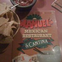 Photo taken at Manuel's Mexican Food by Ellen S. on 1/15/2011