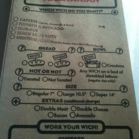 Photo taken at Which Wich? Superior Sandwiches by Catherine C. on 7/20/2011