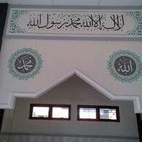 Photo taken at Masjid Baitusy Syifa by Hargo P. on 1/23/2012