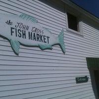 Photo taken at John Cross Fish Market by Deborah E. on 6/5/2011