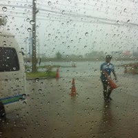 Photo taken at PTT NGV Station by May P. on 9/6/2011