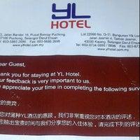 Photo taken at YL Hotel, Pusat Bandar Puchong by Ariel B. on 1/12/2012