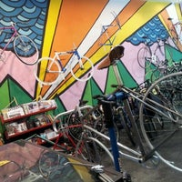 Photo taken at Transit Bicycle Co. by Michelle M. on 11/7/2011