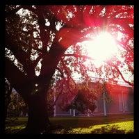 Photo taken at Menil Park by David T. on 11/18/2011