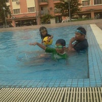 Photo taken at Sri Hijau swimming pool by Syiera S. on 1/2/2012