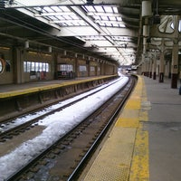 Photo taken at Newark Penn Station - Track 1 by Ryan N. on 2/13/2011