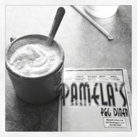 Photo taken at P&G Pamela's Diner by Jonathan K. on 12/18/2011