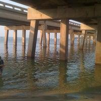 Photo taken at Destin Bay by Justina G. on 8/3/2011