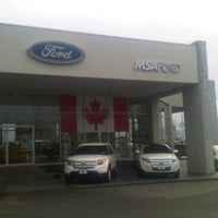Photo taken at MSA Ford by Travis H. on 1/5/2012
