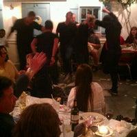 Photo taken at Mykonos Taverna by Misha B. on 12/31/2011