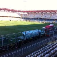 Photo taken at Orogel Stadium Dino Manuzzi by Stefano S. on 4/17/2011