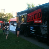 Photo taken at Barrio Truck @ Music And Movies by Mike &. on 8/9/2011