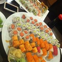 Photo taken at Sushi Palace by Dan P. on 11/3/2011