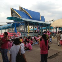Photo taken at ท่าเรือพระราม 7 (Rama 7 Pier) N24 by BOYZ H. on 7/7/2012