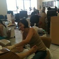 Photo taken at DV Nails by sandy on 9/11/2011