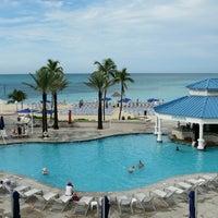 Photo taken at Meliá Nassau Beach by Jeferson P. on 6/3/2012