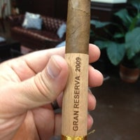 Photo taken at G.R. Tabacaleras Co. Cigar Store and Lounge by Tim P. on 7/28/2012