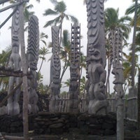 Photo taken at Puʻuhonua o Hōnaunau National Historical Park by Mary K. on 8/2/2012