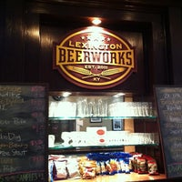 Photo taken at Lexington Beerworks by Chuck L. on 5/10/2012