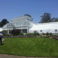 Photo taken at Volunteer Park Conservatory by Monica C. on 7/6/2012