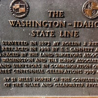 Photo taken at Centennial Trail - Stateline by Dennis H. on 9/3/2011