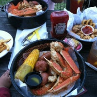 Photo taken at Joe's Crab Shack by Sheila M. on 3/18/2012