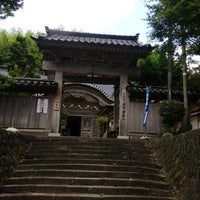 Photo taken at 海門寺 by t o. on 8/12/2012