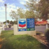 Photo taken at Chevron by Chris H. on 8/3/2012