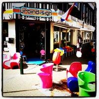 Photo taken at UrbinDesign Retro Furniture by urbindesign.nl on 7/3/2011
